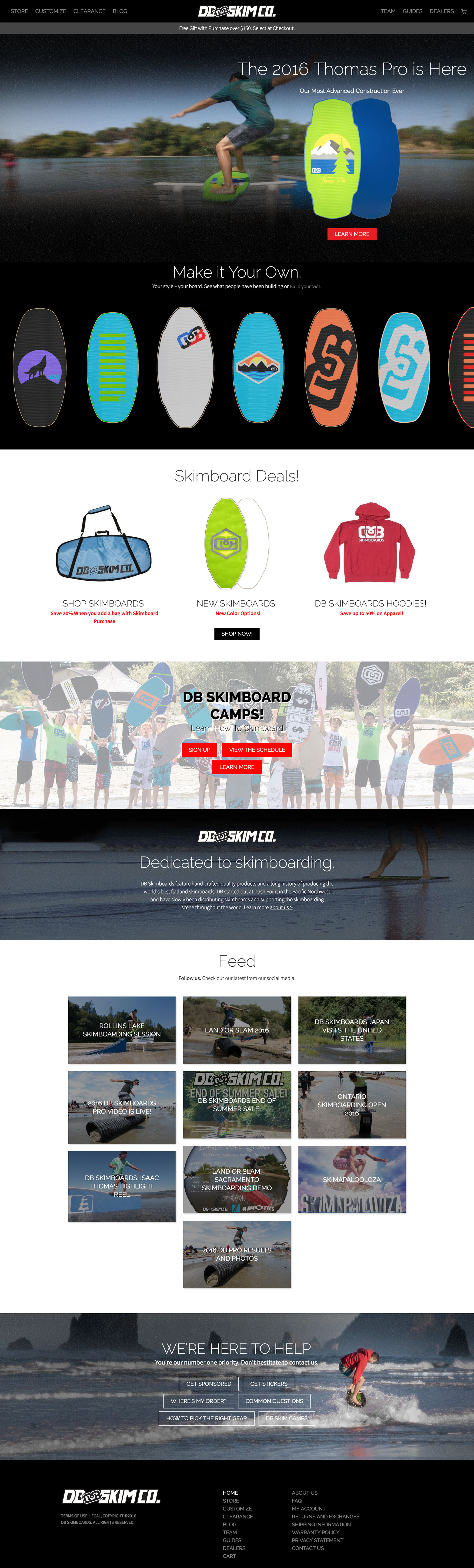 dbskimboards-home-page