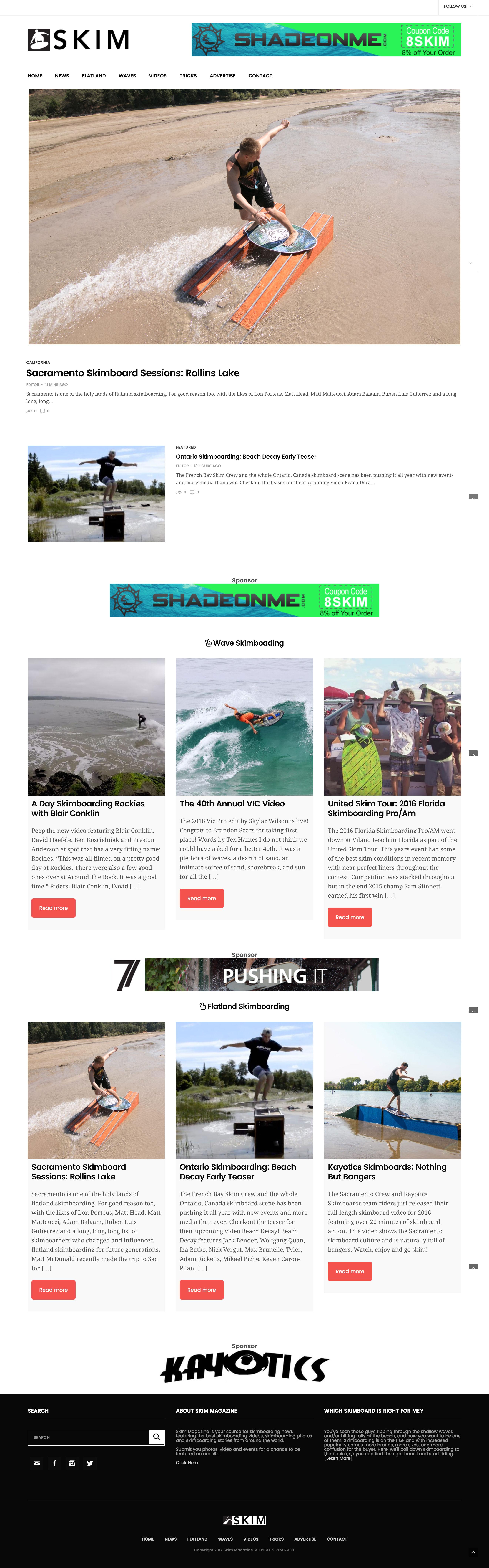 skim-magazine-home-page